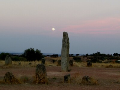 full moon over the xerez circle